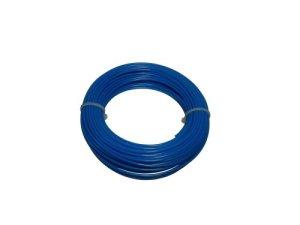 48 X Fil en Nylon pour coupe-bordures 1,65 m X 15 mm Bleu pétrole & électrique
