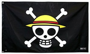 ABYstyle – ONE PIECE – Drapeau « Skull – Luffy » (70×120)