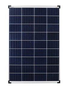 Enjoysolar® Poly Module solaire 100 W 12 V Panneau solaire Idéal pour camping-car, jardin solaire häuse, bateau
