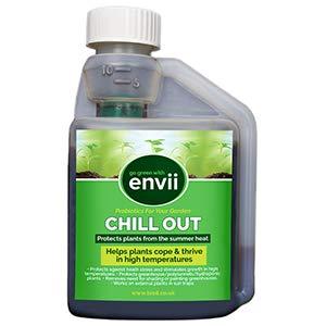 Envii Chill Out – Fertilisant Biostimulant Unique Qui Aide Les Plantes à Grandir Durant Les Fortes Températures – 250ml
