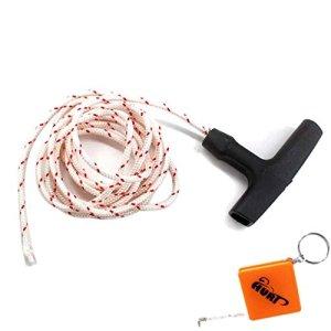 houri Poignée avec corde 2m de démarreur 3,5mm Convient pour Stihl démarrage 030031032AV 031AV Tronçonneuses