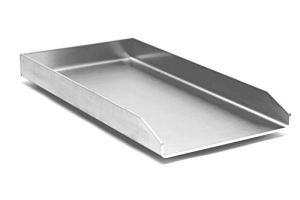 Kette´s Grillzubehör / Edelstahl Plancha 480x340mm / passt für Weber Genesis II
