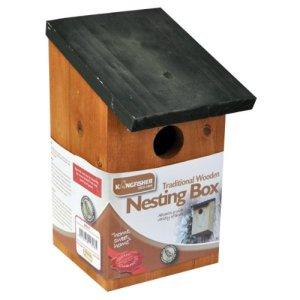 Kingfisher Nichoir en bois