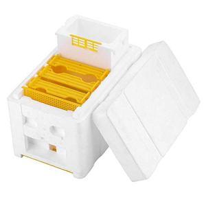 KKmoon Ruches en kit, Bee Hive Apiculture King Box Cadre de pollinisation Cadres en mousse Kit d'apiculture