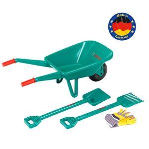 Klein – 2752 – Jeu de plein air – Set de jardinage Bosch avec brouette, 4 pièces