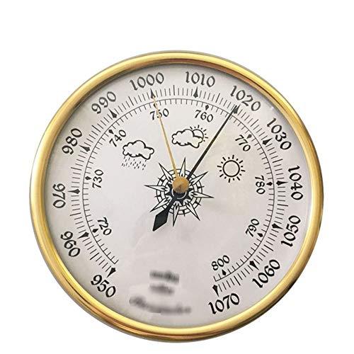 KSUVR Baromètre Maison baromètre Mural Outil de Mesure météorologique baromètre Multifonction Haute précision