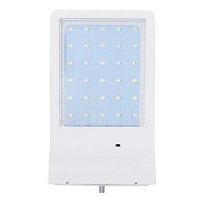 Lampe Solaire de Jardin, Lampe à LED Solaire extérieure IP65 étanche éclairage Mural Solaire de Jardin avec Tige
