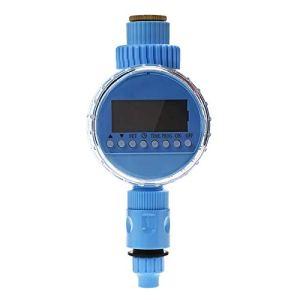 Lijincheng Chronométré Irrigation Automatique Intelligent d'arrosage minuterie d'irrigation Contrôleur électrique Valve Capteur de Pluie Ecran LCD électronique Programmateur (Color : Type 4)