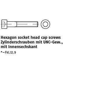 Lot de 10 vis à tête hexagonale ART 83912-1 1/4–7 UNC x 7 178 mm