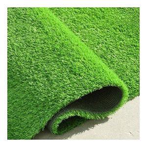 NINGWXQ Pelouse Synthétique de Qualité Supérieure, Jardin Micro Paysage Ornement Pet Dog Turf Tapis, Gazon Artificiel Réaliste Intérieur/Extérieur (Color : Green 20mm, Size : 2x3m)