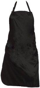 Olivia Garden Charm Tablier Charm, Noir – Résistant à l'eau, Facile d'entretien, Tissu Léger, Ajustable