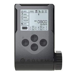 Riegoprofesional Programmateur d'arrosage à Piles Solem WooBee 4 Stations avec Bluetooth