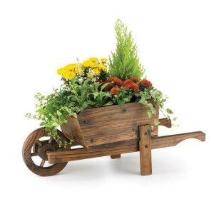 Rustic Garden Supplies BAR5/B Bac à fleurs Brouette décorative