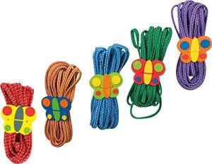Small Foot Company – 1814 – Outillage De Jardin Pour Enfants – Elastiques Papillons – Lot De 5
