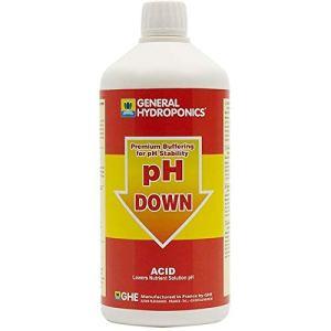 Stabilisateur pH – pH down 1L – GHE
