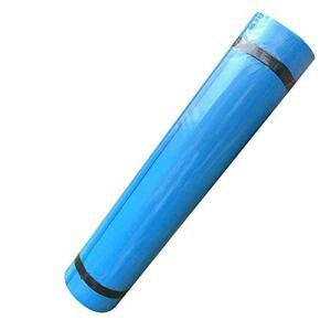 Wacc 1 pièce Tapis de Yoga EVA Antidérapant Fitness Slim Yoga Tapis d'exercice De Gymnastique Insipide Pilates Gym Tapis d'exercice Tapis De Fitness 173 * 60 * 0.4 cm, Bleu Ciel