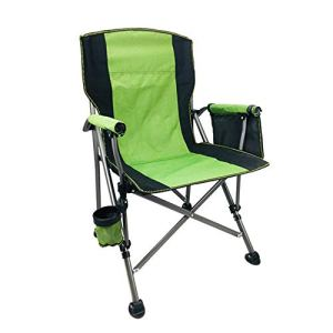 Chaises De Camping Pliantes De D'été avec Porte-Gobelet Et Poche Latérale,A