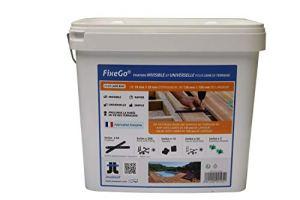 FIXEGO : Fixation Invisible pour lames de terrasse de 19 à 25 mm d'épaisseur
