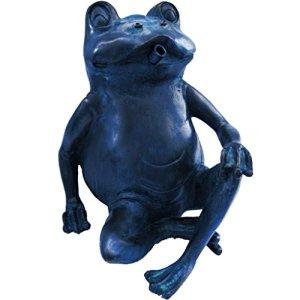 Gargouille Figurine Grenouille assise