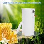 GOTOTOP Extracteur Manuel en Plastique du Miel de l'abeille de 2 Cadres, extracteur Manuel du Miel d'abeille en Plastique, kit d'apiculture