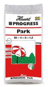 Hauert HBG Dünger 104925Progress Park longue durée pour gazon 25kg pour 425m²