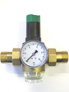 Honeywell d06F braukmann régulateur de pression 1/2 «» avec manomètre