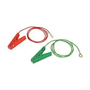 Jeu cables raccordement terre et clotureà oeillets 8 mm, pinces isolées, pour P35/P50, P250-P350 – 100901