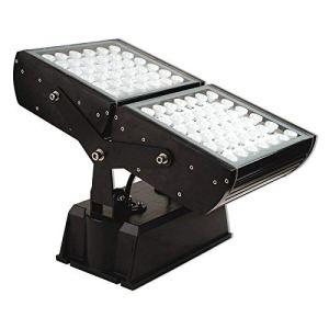lampe d'exterieur Projecteur à LED Iago pivotante noire 94W IP65