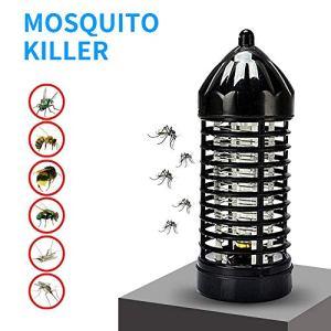 LANGYINH LED Mosquito Killer Lamp,UV Insecte Bug Zapper,Électronique Anti Fly Pest Piège pour Usage Intérieur Extérieur