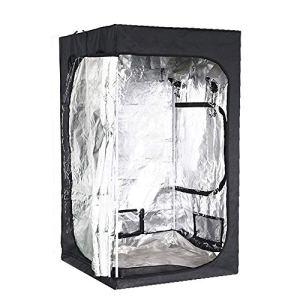 Lyf Serre De Jardin Tente À Effet De Serre, 23,5 X 23.5×55.11 Pouces, Bourgeon Intérieur Hydroponique Chambre Verte Chambre De Croissance De Jardinage Végétale, 600D Oxford