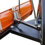 Pelle à neige hydraulique pivotante 3 points KAT.0, orange