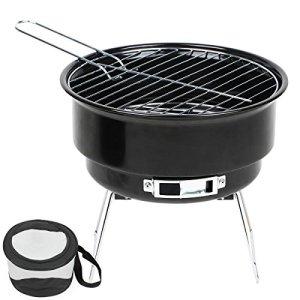 Seau barbecue au charbon de bois de barbecue pour terrasse jardin camping Festival pique-nique Party BBQ Barbecue 25,4cm