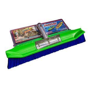 SweepEase 654367706299 dynamique Pinceau Aqua piscine, 18 cm