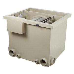 Tambour Filtre PP50Max. 65m³ L/H Débit avec couvercle