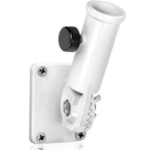 Anley Support de Mât Multipositions pour Drapeau et Accessoires – Fabriqué en Alliage d'Aluminium – Résistant et Antirouille – Diamètre intérieur 1″