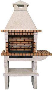 Barbecue extérieur pierre et brique