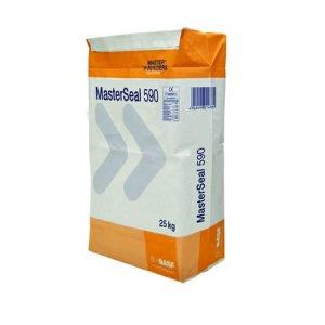 BASF Mortier rapide pour piscines, Masterseal 590, 5 kg, Gris