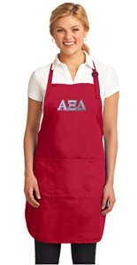 Broad Bay Large Alpha Xi Mens Apron or Womens Aprons Top AZD Sorority Gift for Him