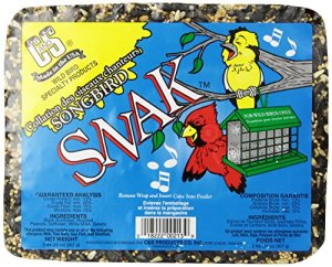 C & S Products Songbird Snak, 6pièces