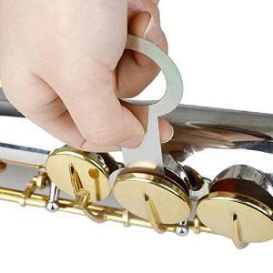 EasyBuying W8 Lot de 8 outils de réparation pour saxophone alto/soprano/ténor