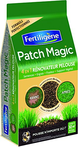 FERTILIGENE Patch Magic Rénovateur Gazon 4 en 1 Sac 7Kg