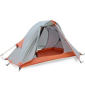 HUANGMENG Matériel de Camping Tente de Camping en Plein air Ultra légère résistant aux tempêtes de Sable 1601, Taille: 210x138x110cm