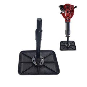 IDABAY Accessoire Dame Carrée En Acier Inoxydable Pour Brise-Béton Jh95a Professionnel Noir 570x120x50 mm