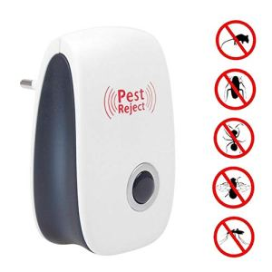 IXL Ultrasonic Insect Repellent, Insect Trap, Electronic Insect Exterminator, Kill Pest Insects Lizard Insect Pest Insect Repellent Home, EU Plug, États-Unis