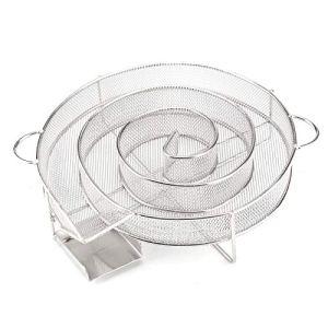 JueYan BBQ Generateur Fumée Froide- Boîte De Fumoir De Granule/Boîte De Fumoir – Parfait pour Le Saumon Fumé, Le Porc Et Plus