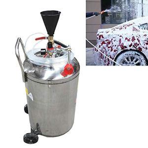 Lave-auto et accessoires automobiles Cire mousse en acier inoxydable Machine de voiture Traceless Lave-linge (80L)