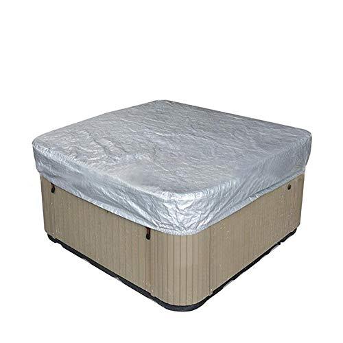Le spa extérieur couvre la couverture de poussière de piscine de bain couvrent 244 244 30cm de spa de place de polyester imperméable