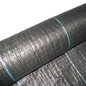 Masgard® Tissu à bandelettes 100 g/m2 – Bâche anti-mauvaises herbes – Différentes dimensions – Haute stabilisation UV 3,00 m x 10,00 m = 30 m² (gefaltet) Noir