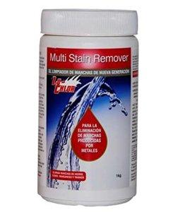 Multi-Stain Remover Élimine les taches obtenues par métaux fonde sur les murs et sur tous types de piscines