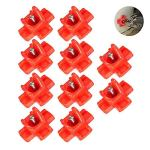 NCNC Horizontal Side Mount Screw Automatic Poultry Nipples, 10Pcs Chicken Drinking Tap, Poultry Drinking Water Cups Bowl Feeder, Clean Drinker Waterer for Duck Bird Pigeons Quail Hen Geese